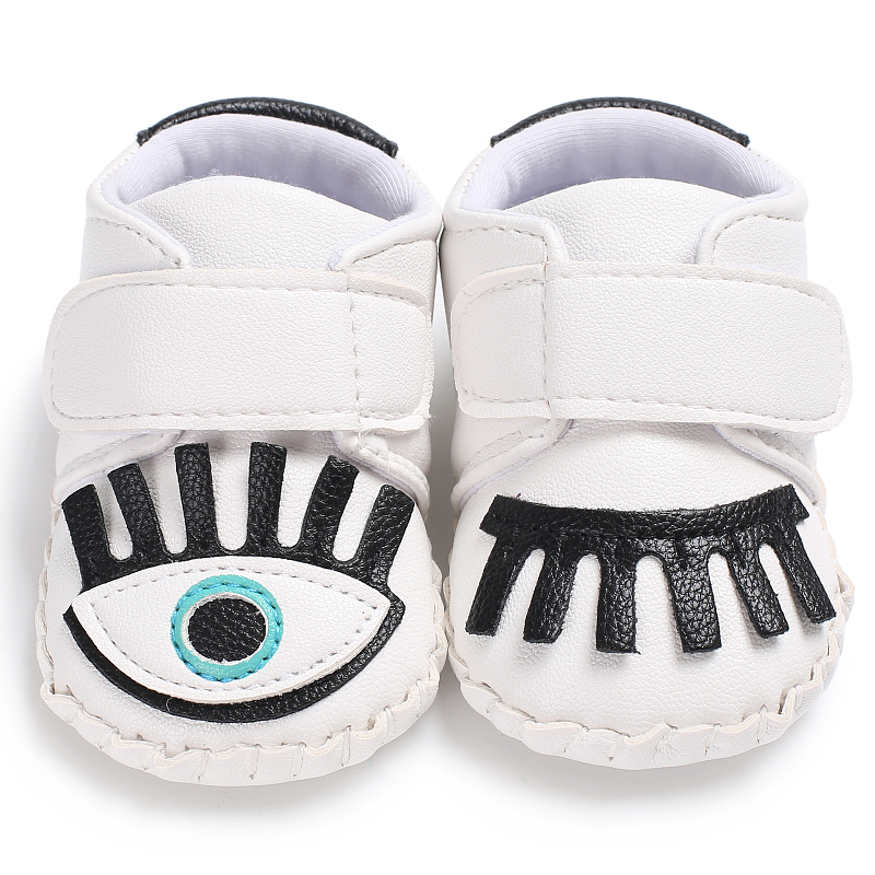 PU Leather Baby Shoes Baby Moccasins Single eyes Newborn boys girls Shoes Infant Shoes first walkers Adorable Design