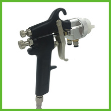 цена на SAT1182 Mirror Chrome Paint Adjustable AirBrush High Pressure Regulator Spray Gun Spray Foam Gun Air Tools Of Paint Gun Machine