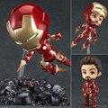 Heros Iron Man Mark 43 Tony Stark Edición Ultra Centinelas Set 10 CM Nendoroid 543 Acción PVC Figuras de Colección Modelo juguetes
