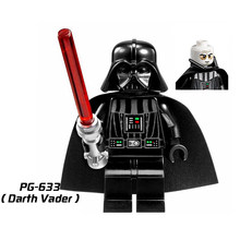 Single Sale Star Wars Legoings Darth Vader Amidala Darth Maul Count dooku Jango Fett Stormtrooper Minifigs Building Blocks Toys(China)