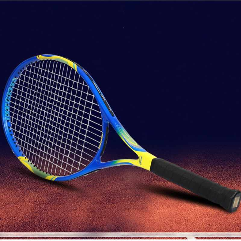 New Carbon Fiber Tennis Racket Raquets 55-60 lbs High-quality For Men Women Training Entertainment Competition With Bag String