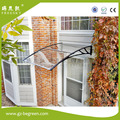 YP100120 100x120cm 39x47in depth 100cm width 120cm clear/white/black marquee pc window canopy door canopy ,polycarbonate awning