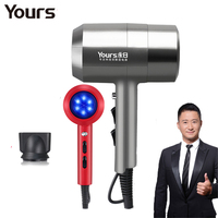 2100w Negative Ion Cold and Hot Air Blower Household Hair Dryer Volumizer for Salon Barbershop Constant Temperature No Radiation