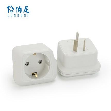 1pcs electrical converter eu wall socket china plug turn. Black Bedroom Furniture Sets. Home Design Ideas