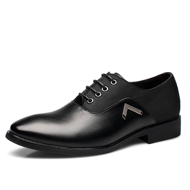 Мужская Обувь Новый Обычная Кожаная Обувь Острым Носом Мужчины Квартиры Башмаки Мужчины Оксфорд