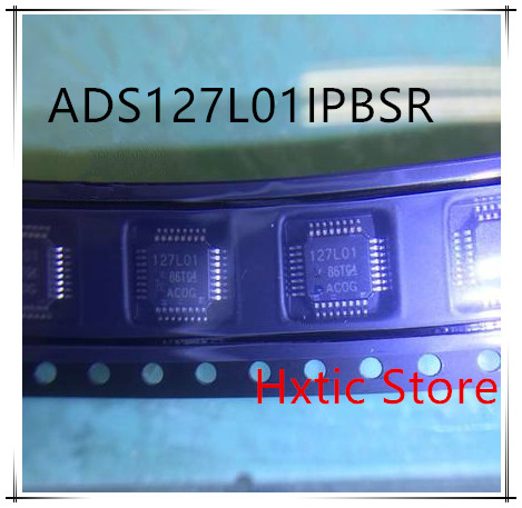 NEW 1PCS/LOT  ADS127L01IPBSR ADS127L01 MARKING 127L01 TQFP-32 IC