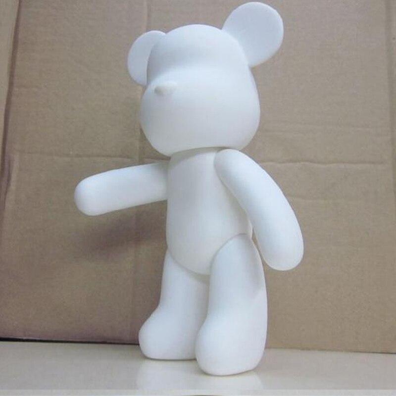 Wholesale 5pcs/set Gloomy Bear POPOBE 7 inch White Mold for DIY painted 18cm H