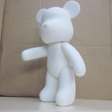 Wholesale 5pcs/set Gloomy Bear POPOBE 7 inch White Mold for DIY painted 18cm H