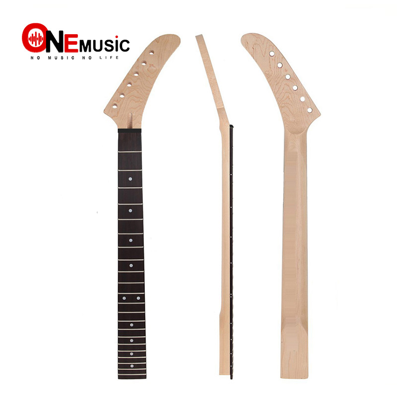 22 Frets Banana Maple Guitar Neck Rosewood Fingerboard White Dot Inlay  for ST Strat Guitar Replacement  Guitar Parts22 Frets Banana Maple Guitar Neck Rosewood Fingerboard White Dot Inlay  for ST Strat Guitar Replacement  Guitar Parts