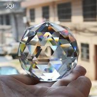 6 CM Quartz Crystal Glass Faceted Ball Natural Stones And Minerals Feng Shui Crystals Balls Miniature