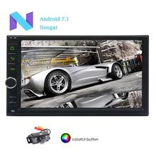 EinCar Radio 7″ Android 7.1 OS Car Navigation Stereo Entertainment Video Music MP3 GPS Navigation WIFI PC Tablet Rearview Camera