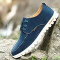 Tamanho grande 2017 Novos Sapatos de Lona Homens Sapatos Baixos Pedal Respirável Massagem Placa de Deslizamento em Calçados Casuais dos homens Brancos sapatos