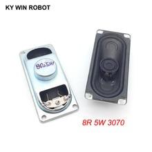 2PCS/Lot LCD Monitor/TV Speaker Horn 5W 8R 3070 Loud speaker 8 ohms 5 Watt 8R 5W 30*70MM thickness 17MM цена