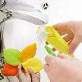 1 pcs Colorido folha de viagem Dobrável copo copo bebendo Eco silicone dobrável tigela de armazenamento simples Escovar Os Dentes Copo S2
