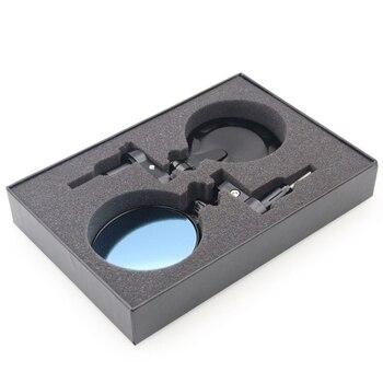 Black Round Mirror | 2Pcs Cnc Coffee Round Motorcycle Rod Rear View Mirror Folding Handle Side Mirror Black