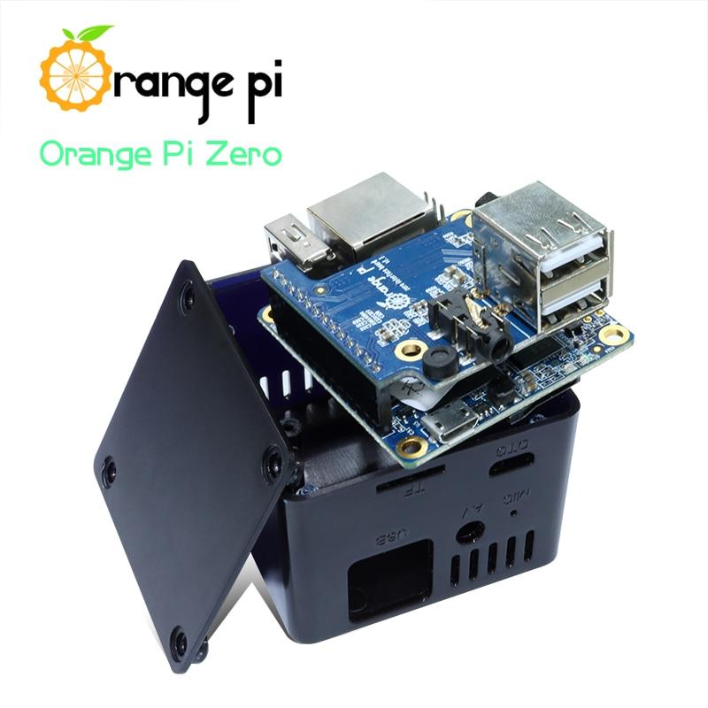 Orange Pi Black ABS Case for Orange Pi Zero Compatible With Expansion Board