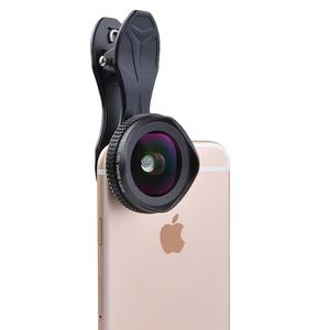 Image 3 - Apexel 2 em 1 kit de lente da câmera do telefone 16mm 4k super grande angular lente móvel com filtro cpl para iphone x 7 8 samsung s8 mais