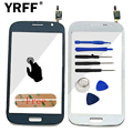 Для Samsung Galaxy Grand Neo Plus Duos i9060 i9062 Сенсорный экран Дигитайзер Сенсорной Панелью Переднее Стекло Объектива С Логотипом + Клей доставка