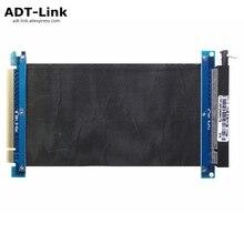 Новый PCI Express PCIe3.0 16x гибкий кабель с ПВХ изоляцией карты Графика карты x16 удлинитель Порты и разъёмы высокоскоростной адаптер переходная карта PCI-e AWG30 Gen3