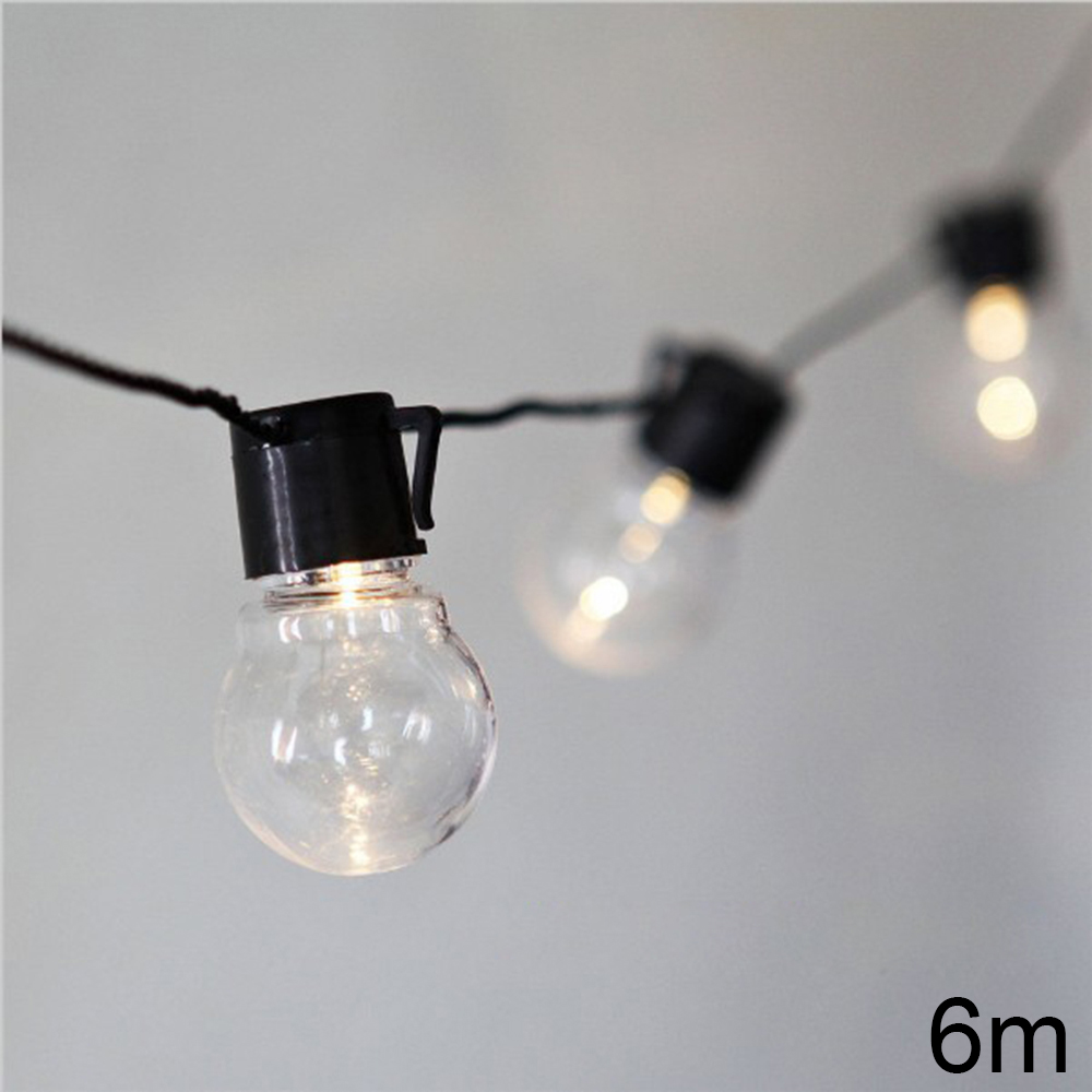 Novelty Outdoor Lighting 5cm Globe LED Ball String Light Christmas Fairy  Lights Wedding Garden Party Pendant