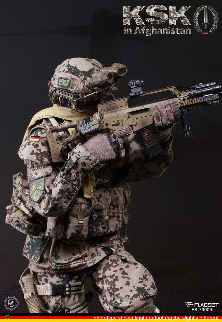 For Collection 1/6 Scale Germany KSK Special Action Team in Afghanistan Assault Figure 73009 full set soldier doll toys 1