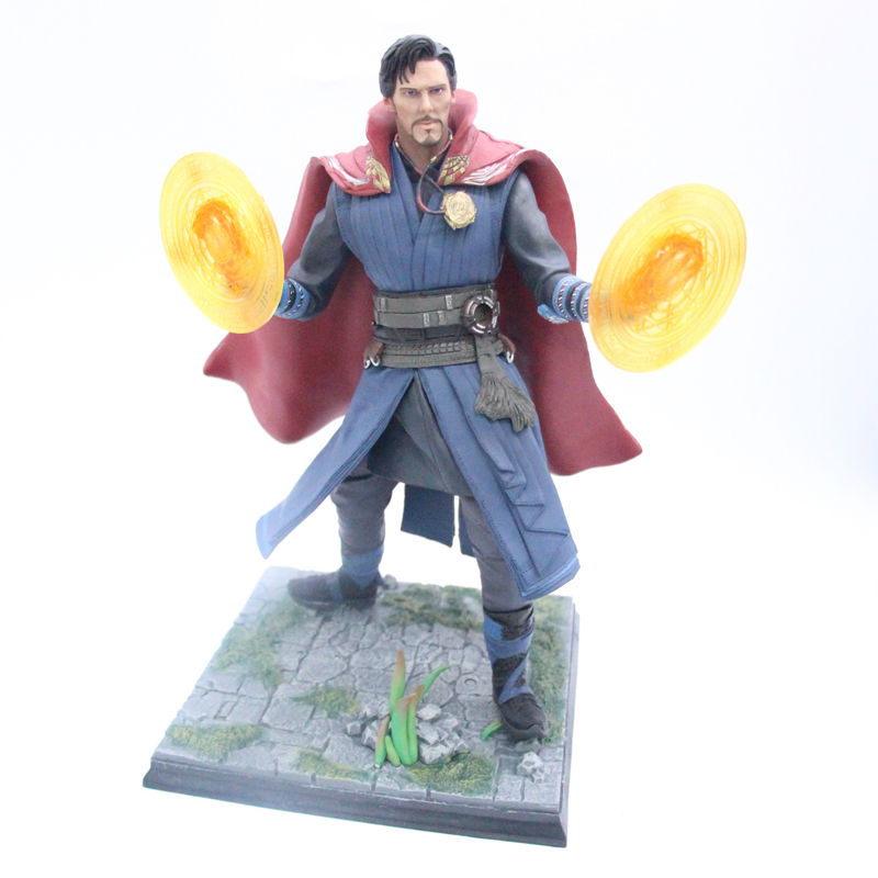 Big Size 30cm Marvel Avengers DOCTOR STRANGE Statue PVC Figure Model Toys High QualityBig Size 30cm Marvel Avengers DOCTOR STRANGE Statue PVC Figure Model Toys High Quality