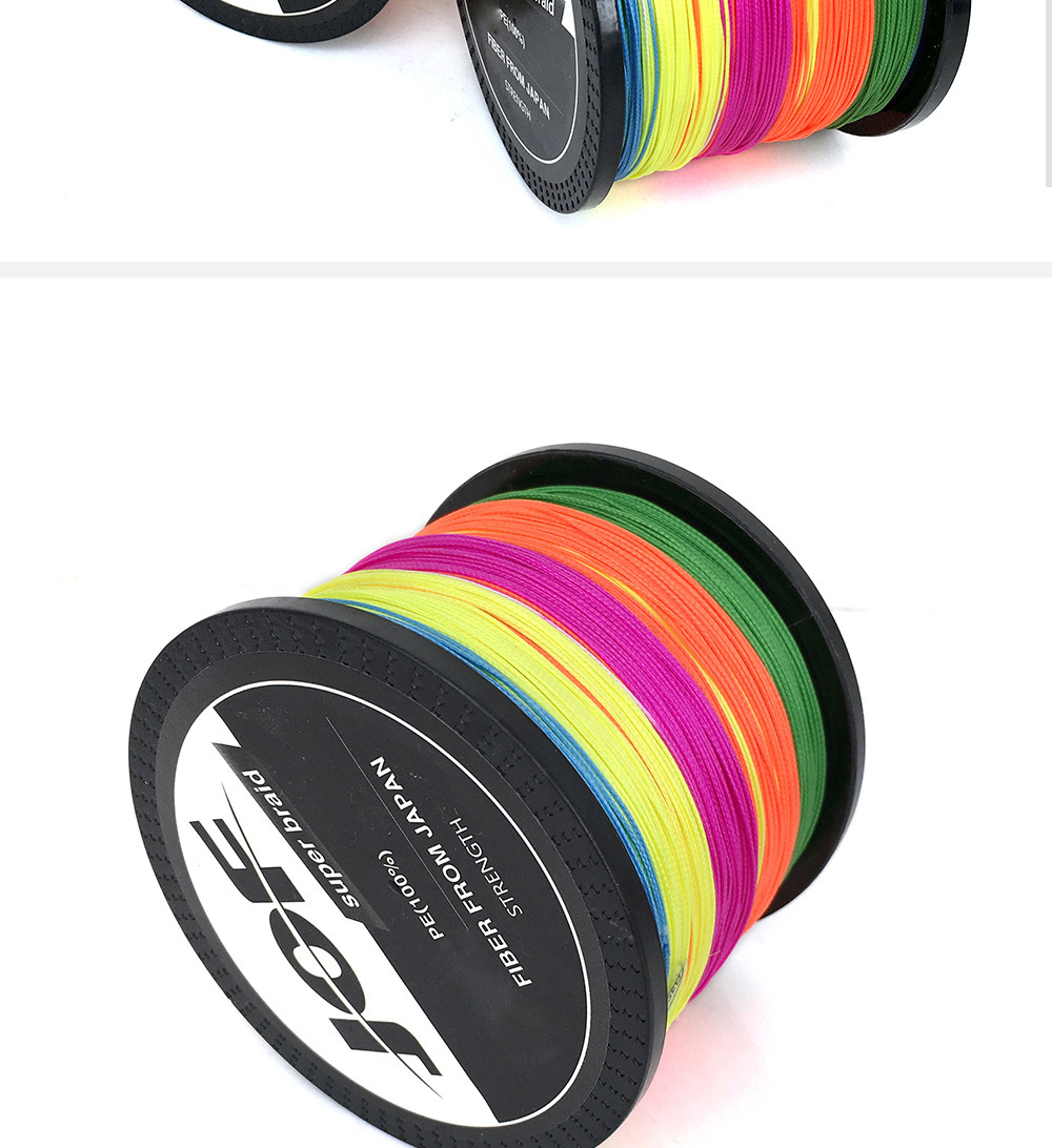 1000M Multifilament Fishing Line 100% PE Braided 4 threads fly fishing line for carping fishing  30 40 50 60 80 100lb 4