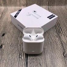 LK-TE9 LK TE9 Сенсорный Тип беспроводной Bluetooth бинауральные звонки смарт-наушники Беспроводная зарядка Bluetooth 5,0