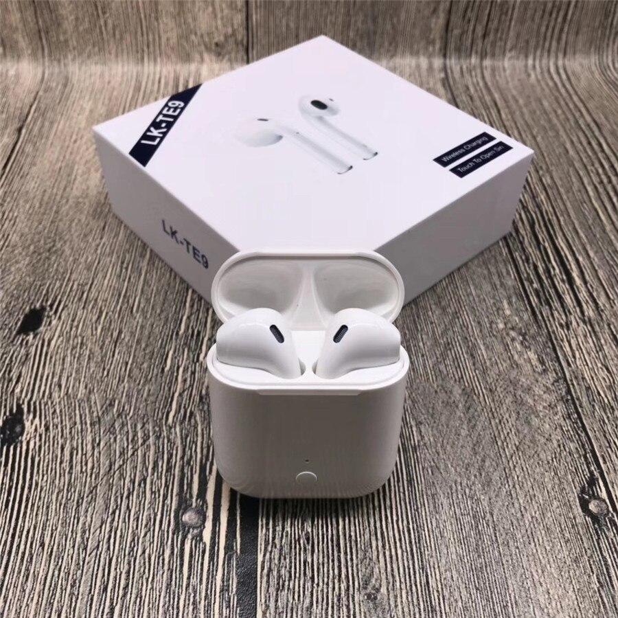 LK-TE9 LK TE9 tactile Type sans fil Bluetooth Binaural appels intelligents écouteurs sans fil charge Bluetooth 5.0