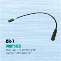 Car Radio Antenna Adapter Cable Wire For Chrysler 2002 2015 Aftermarket Stereo CD DVD GPS Installation