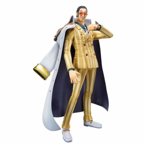 Anime One Piece Portrait Of Pirates Kizaru Borsalino PVC Figure Toy Collectibles Model Doll 600 wow world of orc statue figure high quality wolf rider 10 toy collectibles model doll 275