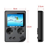 8 Bit Retro Handheld Game Player with 168 Classic Games 2