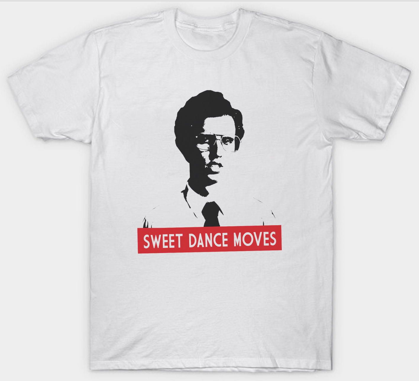 NAPOLEON DYNAMITE T SHIRT SWEET DANCE MOVES FILM MOVIE FUNNY COMEDY
