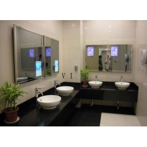 Interactive Mirror TV Overlays Magic Use For Museum Shopping Mall Bathroom Manufacture In Decorative Mirrors From Home Garden On