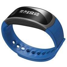 SX100 Смарт-часы сна измеритель пульса Bluetooth Интеллектуальный IP67 Водонепроницаемый ремешок для Xiaomi Android и IOS синий