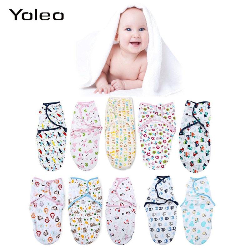 Newborn Baby Swaddle Wrap Parisarc Infant Baby Cotton Soft Blanket Newborn Wrap Sleepsack Baby Blacket Swaddling Wrap Cloth