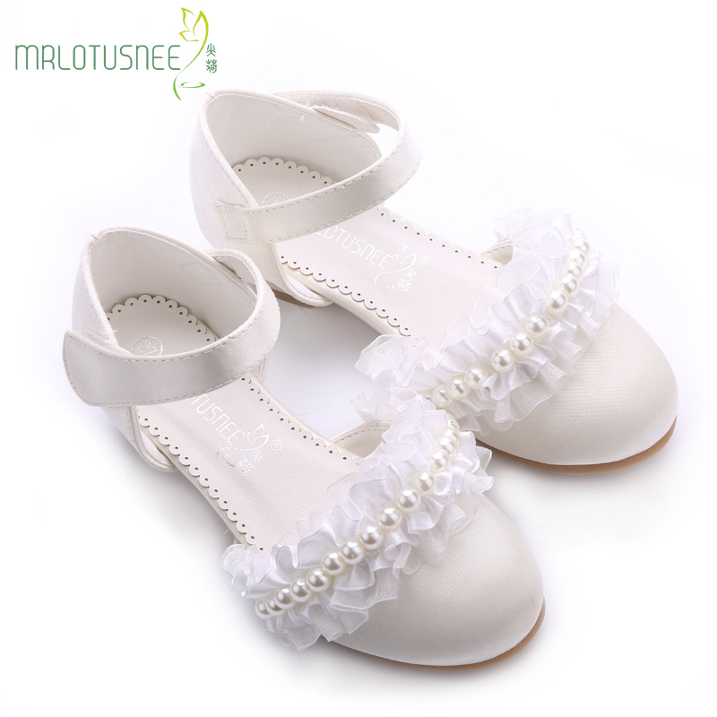 Sandals New Style Dress Shoes High-end Pupil Yarn Princess Shoes Small High Heels Dress Shoes Performance Single Shoes503-3