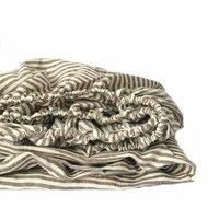 3 шт. окрашенная пряжа полоса Лен Простыня из наволочки белье простыня 100% чистого льна