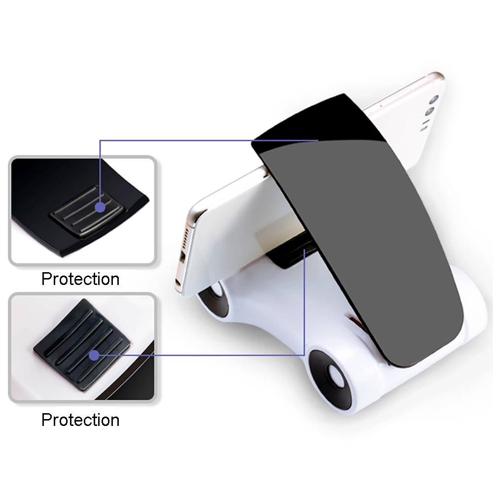 Car Ornaments Automobiles Model Dashboard Decoration Creative 360 Degree Adjustable Rotation Phone Holder Stand Accessories Gift