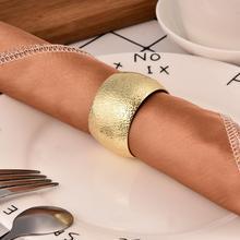 Металлическая для салфеток с пряжкой, аксессуары для стола, кольцо для салфеток, простое кольцо для полотенец, украшение для дома, бара, ресторана, настольное украшение