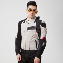 2016 Top Fashion Real Polyester & Nylon Motocross Body Armor Armored Motorcycle Jackets For Men Motorbike Racing Jacket Jk 015
