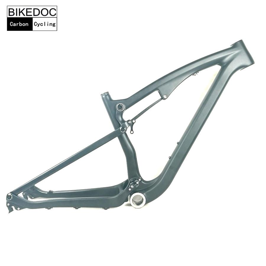BIKEDOC Full Suspension Carbon MTB Frame 650B Mountain Bike Frame 27.5ER Full Suspension Mountain Bike 2017 цена 2017