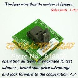 Адаптер для программатора Wellon, адаптер для программатора с разъемом IC, с разъемом IC, с адаптером для проверки на качество IC, с гнездом для раз...