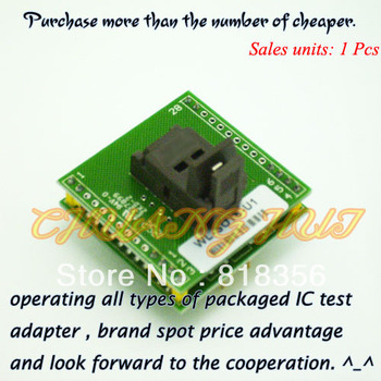 WL-SOT6-U1 Adapter for Wellon Programmer Adapter SOT23-6/SOT23-5 Adapter IC Test Socket/IC Socket 5 pieces lot mp1495dj sot23 8