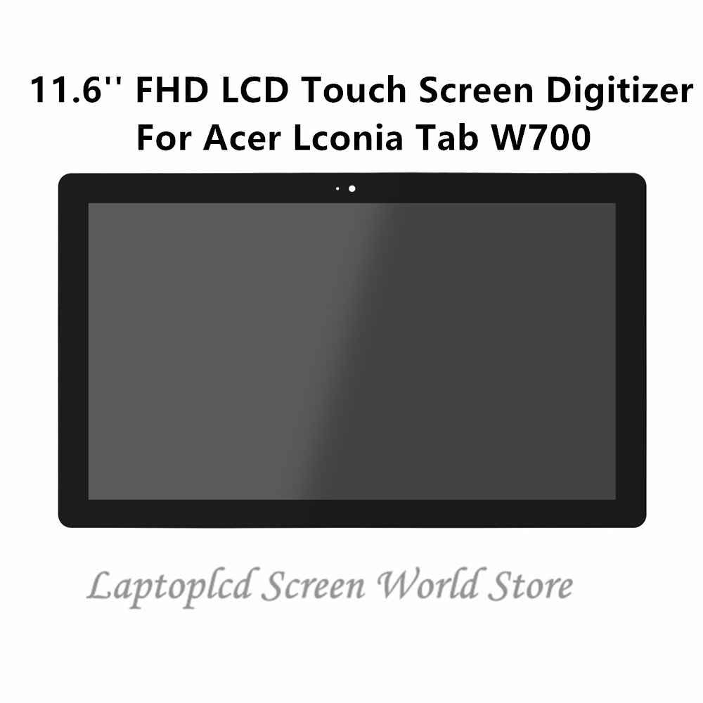 FTDLCD 11 6 FHD LCD Touch Screen Digitizer Assembly Replace Laptop B116HAN03 0 For font b