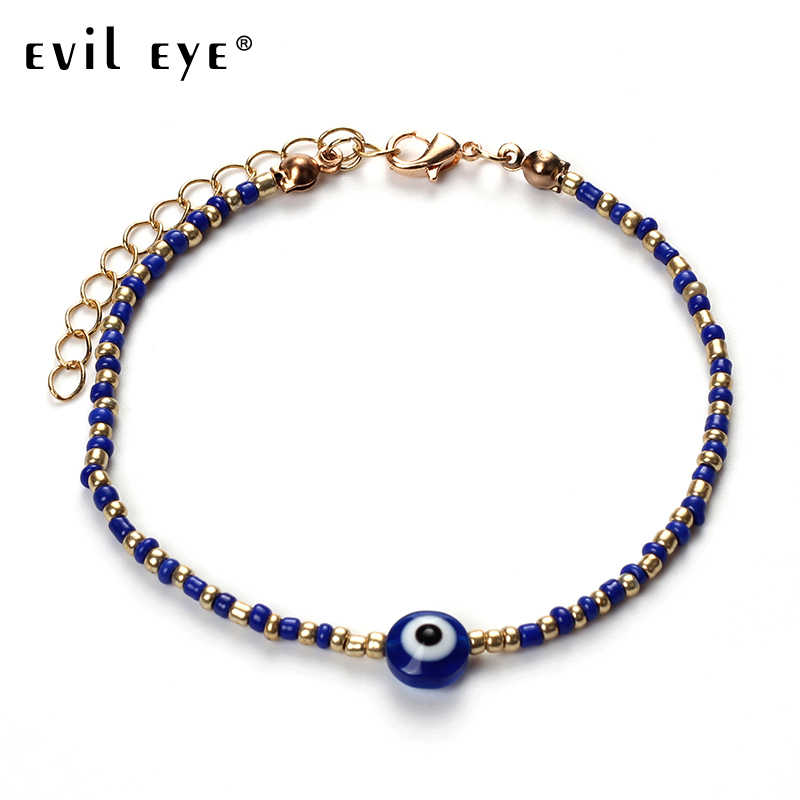 EVIL EYE 1pc Alloy Compass Charms Pendant Bracelets Clavicle Chains Fashion Statement Bracelet For Women Jewelry with card CN115