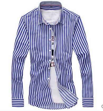 Leisure Fashion Langärmliges Hemd Offenes Hemd Langärmliges Hemd - Herrenbekleidung - Foto 3