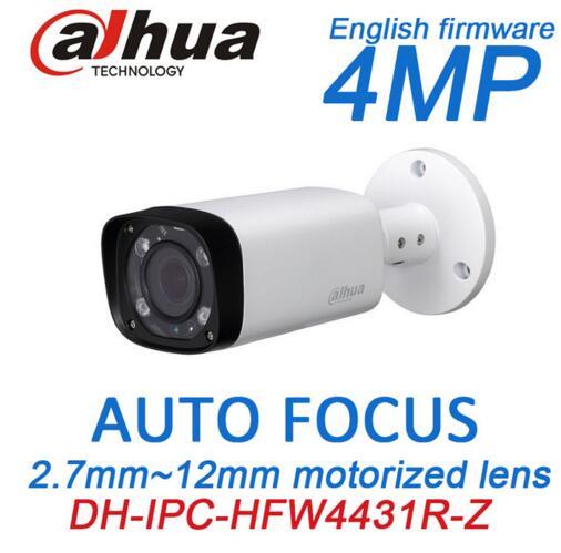Dahua H.265 Varifocal Lens Network 4MP IR IP camera POE