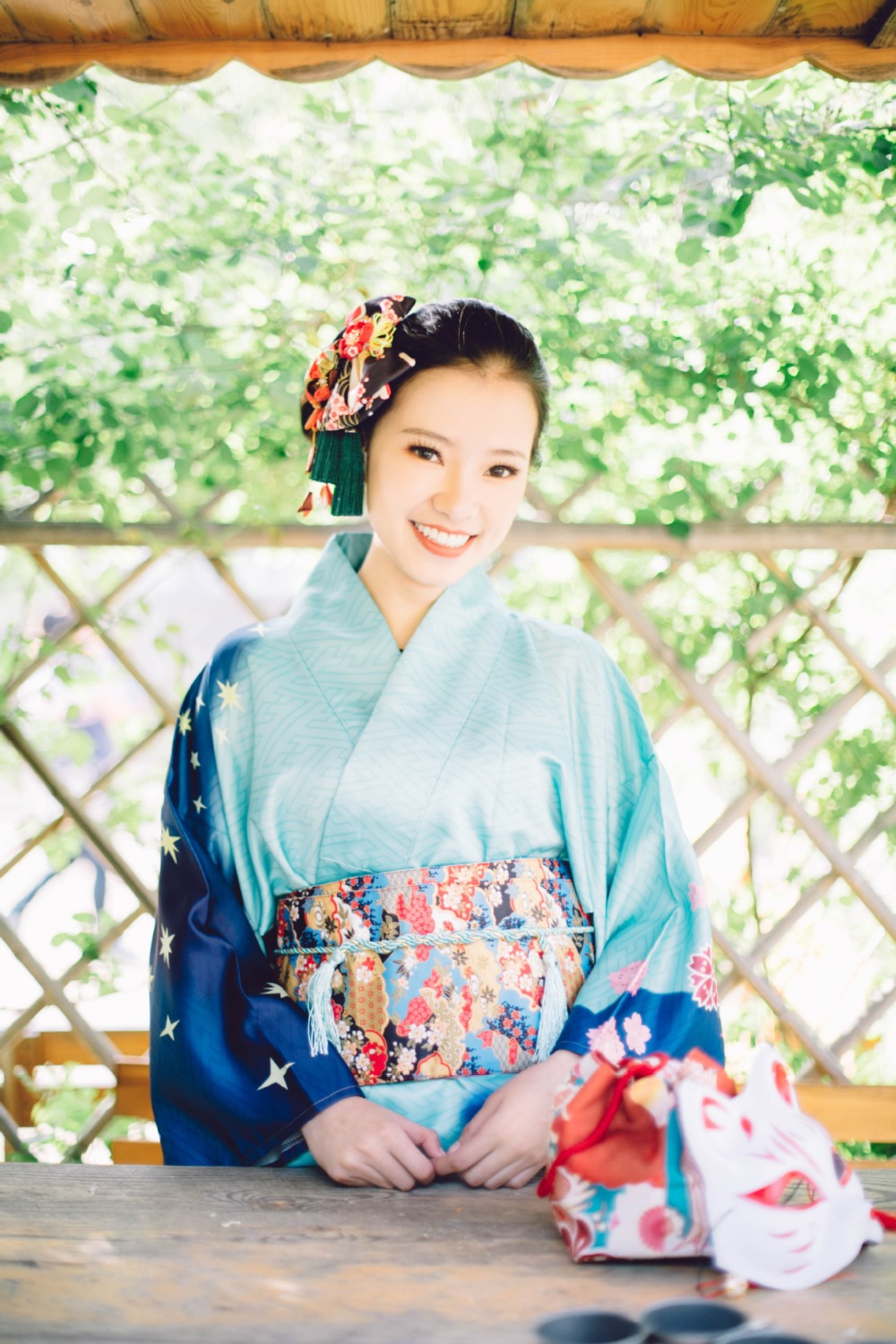 Japanese Kimono With Vibrating Sleeves High-end Luxurious Stage Wedding Dresses