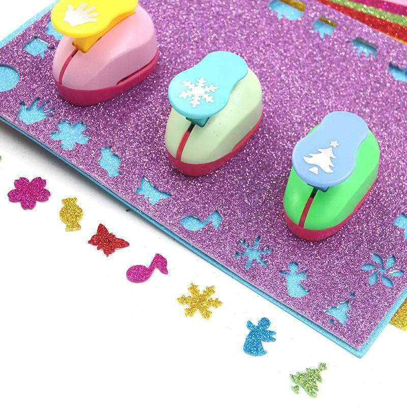 10pcs Color Mixing Glitter EVA Foam Paper Sheet Sponge Soft Touch Arts Crafts Kids DIY A4